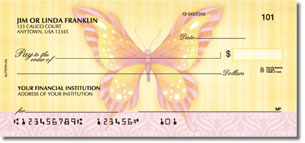 Beautiful Butterflies Personal Checks