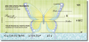 Beautiful Butterflies Personalized Checks