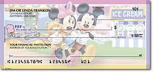Mickeys Adventures Personal Checks