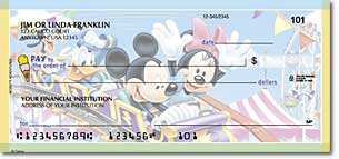 Mickeys Adventures Personalized Checks