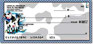 Moo Money Personalized Checks