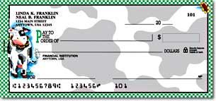 Moo Money Art Checks