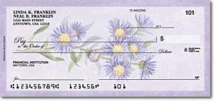 American Wildflowers Personalized Checks