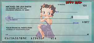 Betty Boop Just Say Boop Personalized Checks