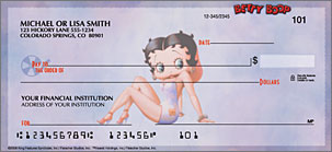 Betty Boop Just Say Boop Art Checks