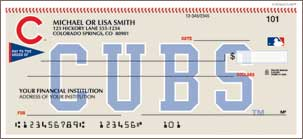 Chicago Cubs Personal Checks