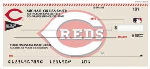Cincinnati Reds Checks Lg