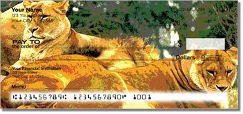 Zoo Animal Personalized Checks