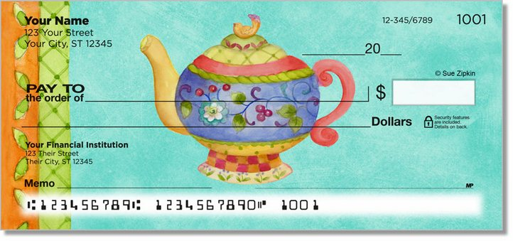 Zipkin Tea Personal Checks