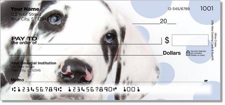 Great Dane Pup Personal Checks