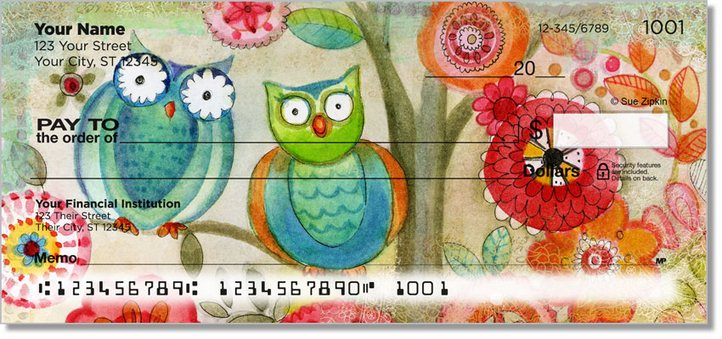 Zipkin Tree Of Life Personal Checks