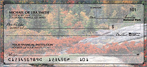 National Parks Personal Checks