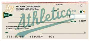Oakland Athletics Personal Checks