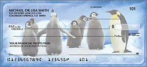 Penguin Parade Checks Lg 1