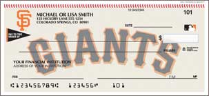 San Fran Giants Checks Lg