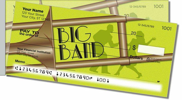 Big Band Side Tear Personal Checks