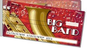 Big Band Side Tear Personalized Checks