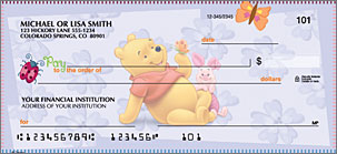 Winnie the Pooh Art Checks