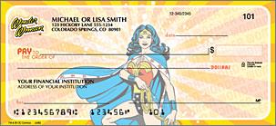 Wonder Woman Personalized Checks